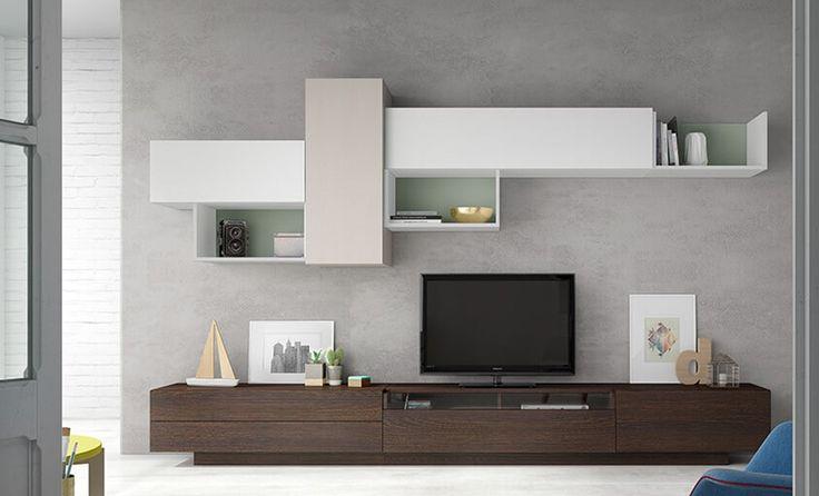 Diseño de mueble apilable moderno, ideal para salones jóvenes y modernos , ¿ quieres un salón así? Ven a conocernos :)