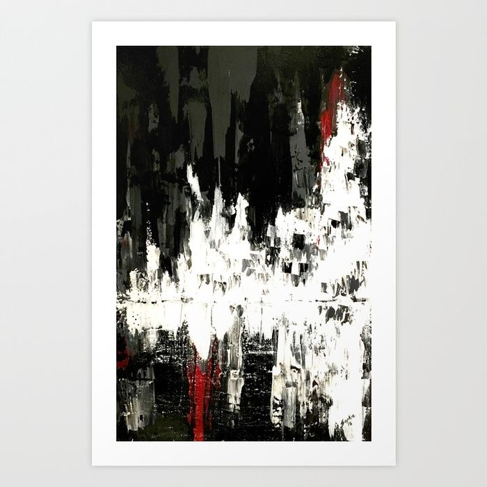 Red 6 Art Print by sophie_lemieux | Society6