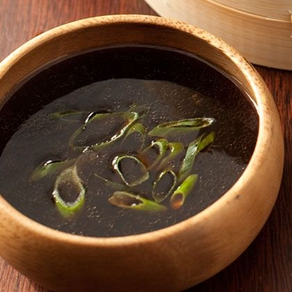 Soy-Ginger Dipping Sauce -  Whisk together 1/2 cup soy sauce; 1/4 cup rice vinegar; 1 tablespoon sugar; 1 teaspoon grated or minced fresh ginger; 1 teaspoon crushed red pepper (or less to taste).  Add 1/4 cup chopped scallions.