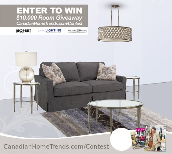 Contest: $10,000 Living Room Giveaway � ENTER TO WIN TODAY!