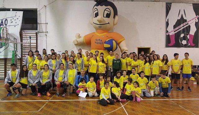 Gira-Volei 2016: Mudança de local não arrefeceu o ânimo dos 80 atletas