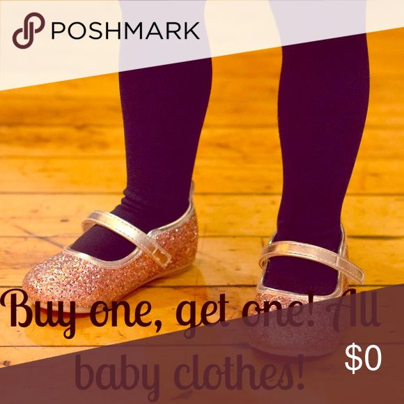 Baby clothes sale! But one get one on all baby clothes-let me know what you'd like and I'll bundle it up! Other
