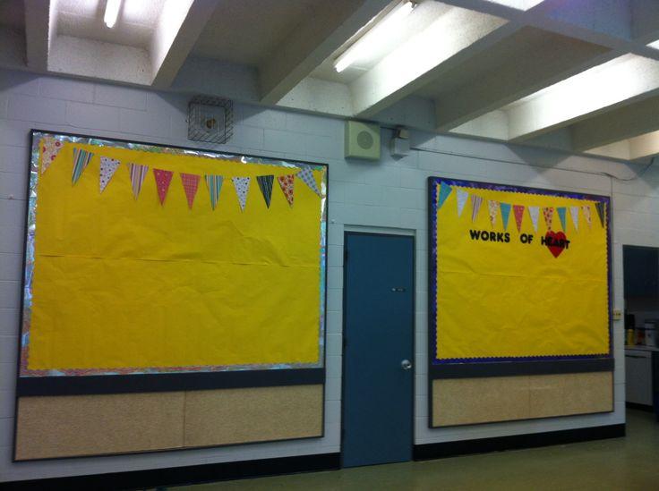 Bulletin board for new school year