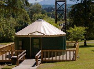 Yurts To Rent Near Seattle Seattle Travel Pinterest