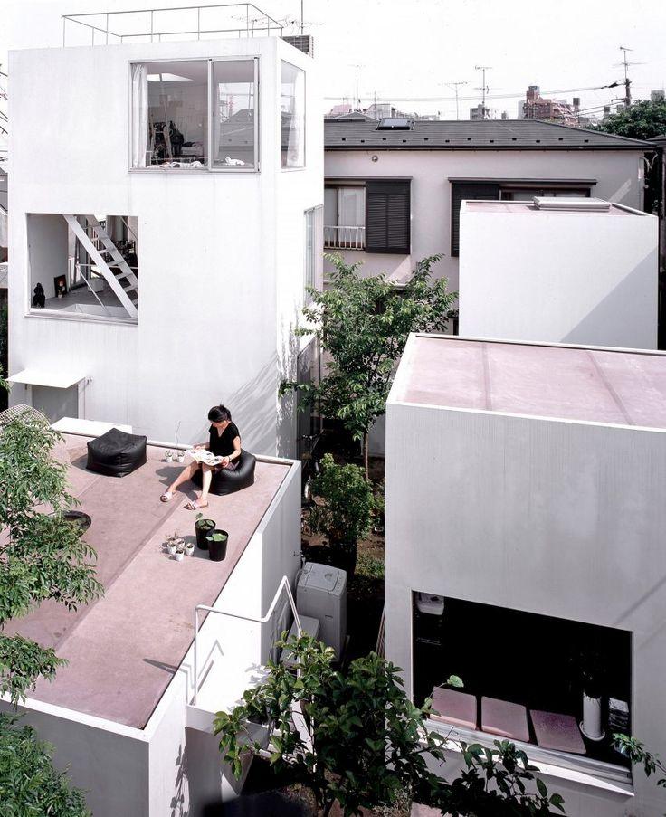 Moriyama House by Ryue Nishizawa / Tokyo, Japan / photos by Edmund Sumner