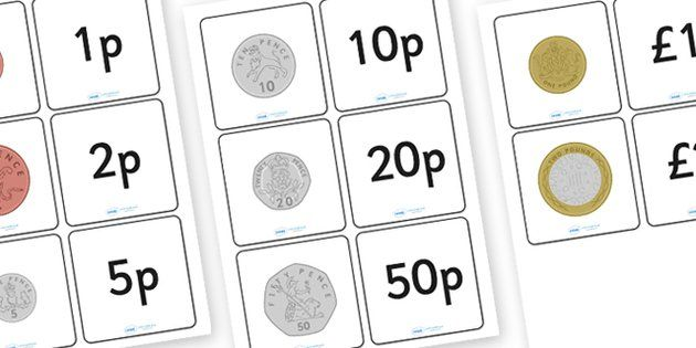 Coin Value Matching Card Activity - matching, matching game, coin value, coins, british coins, coin value matching game, coin value matching cards, coin value matching activity, game, activity, snap