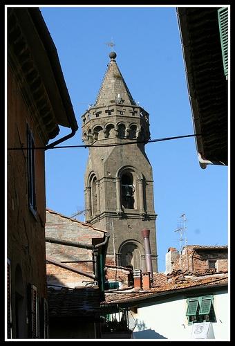 Campanile della Pieve di San Verano Peccioli PI  http://www.valderatuscany.com/peccioli/ #valdera #tuscany #pisa