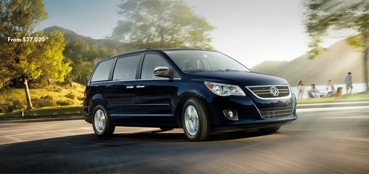 We love our new VW Routan!