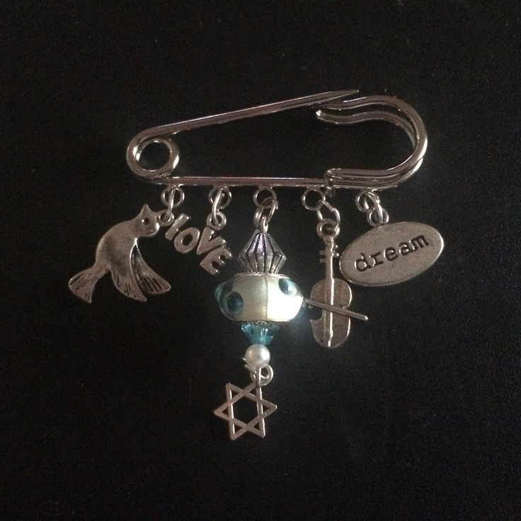 Fiddler on the Roof Brooch Pin