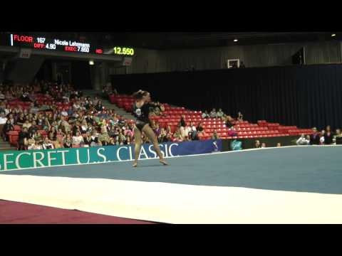 Amelia Hundley -- Floor -- 2012 U.S. Secret Classic Can't wait to go to Rio in 2016 to watch you (: