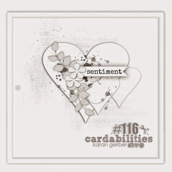 Cardabilities: Sketch #116 - Designed by Karan Gerber