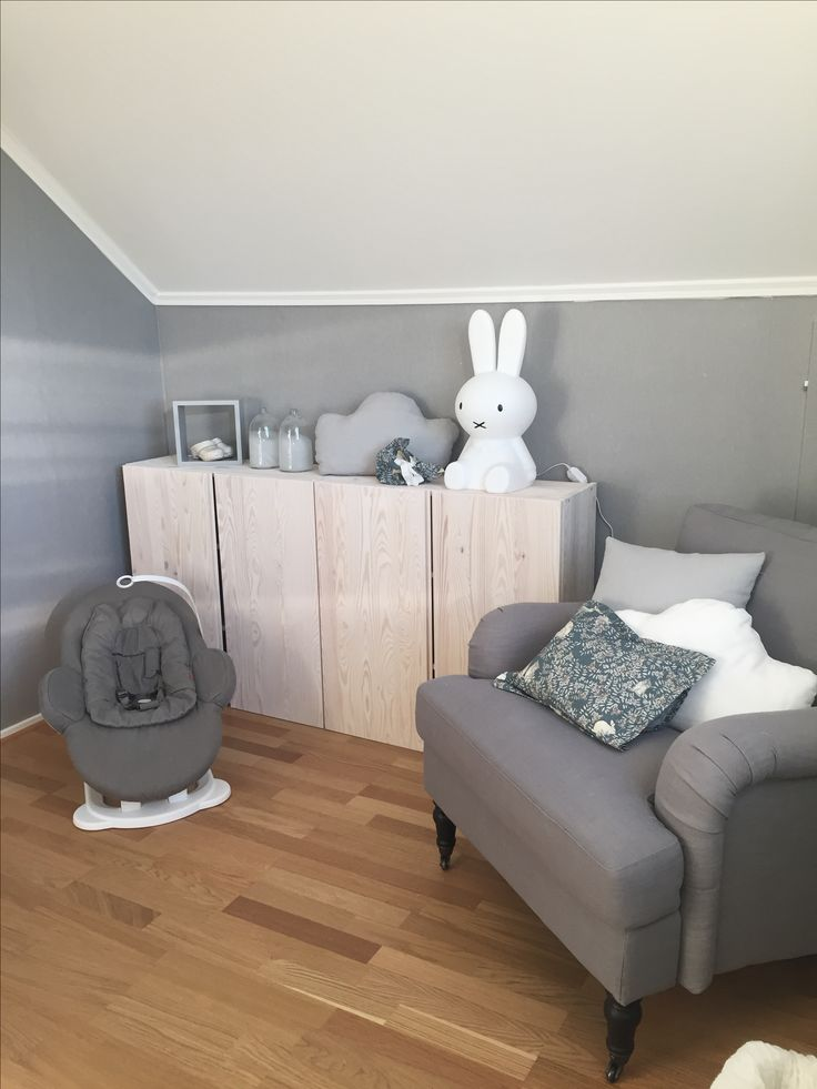 Barnrum, pojkrum, Stokke, howard fåtölj, Ivar Ikea, miffy lampa, garbo & friends