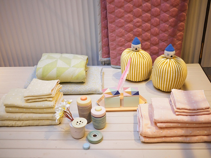 Couverture & the Garbstore -London  pastel homeware for winter