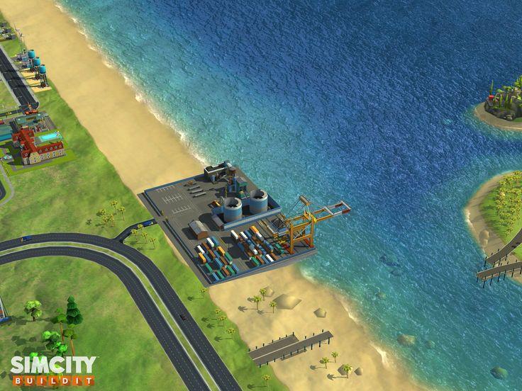 De haven in simcity building