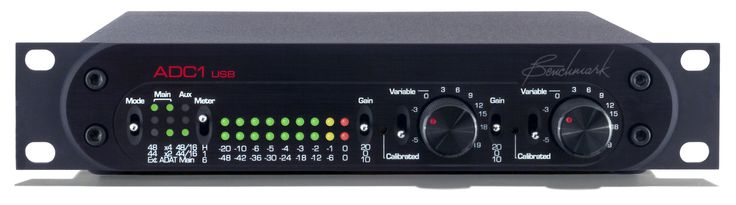 Benchmark ADC1 USB - Analog to Digital Audio Converter - Benchmark Media Systems, Inc.