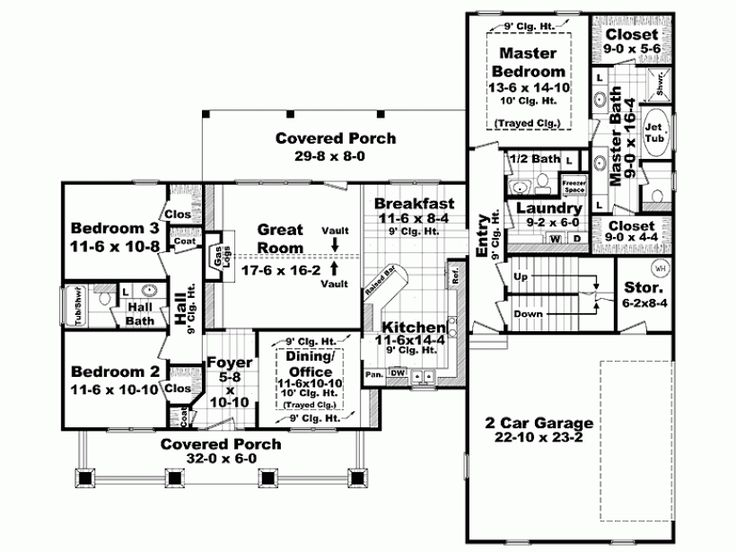 1900 Square Foot House Plans 105 best beautiful (big) floorplans images on pinterest