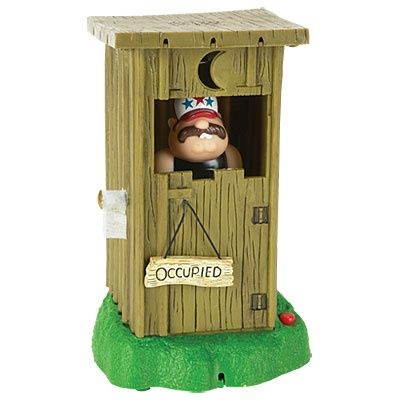 Novelty Animated Redneck Outhouse At Big Lots Outhouse