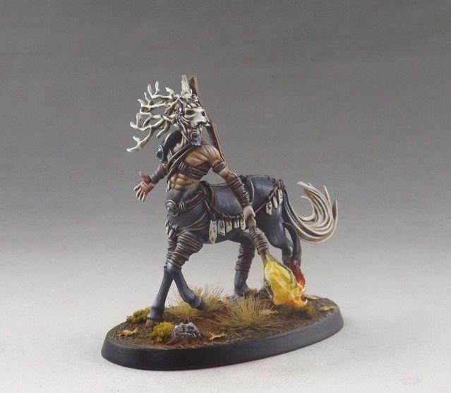 Centaur, Sculpted by Edgar Ramos & painted by Martin Grandbarbe