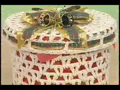 DVD CROCHÊ ENDURECIDO ESPECIAL NATAL COM CARMEM FREIRE - YouTube