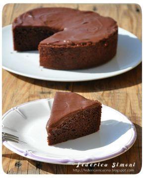 La cucina di Federica: Torta al cacao con latte condensato