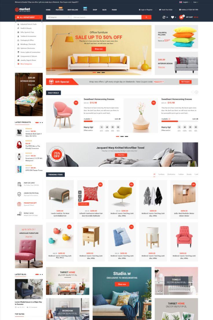 eMarket Multi Vendor MarketPlace Elementor WordPress