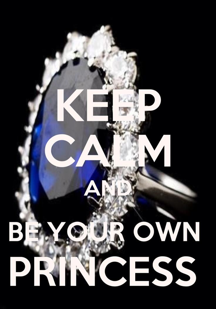 Keep Calm And Be Your Own Princess ♚$pÕ!LèDˇPr!NćË$$♚