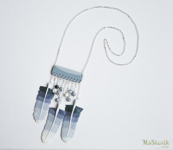 Cherokee Necklace. $30.00, via Etsy.