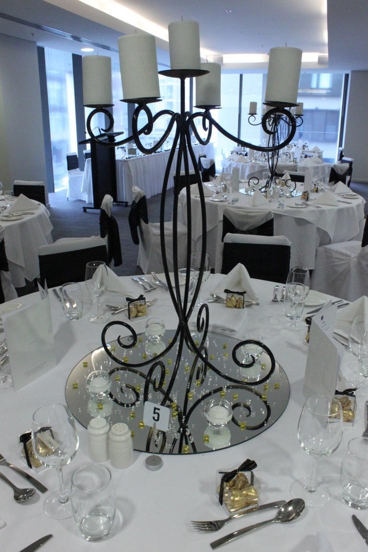 #candelabra #weddingreception #mirror