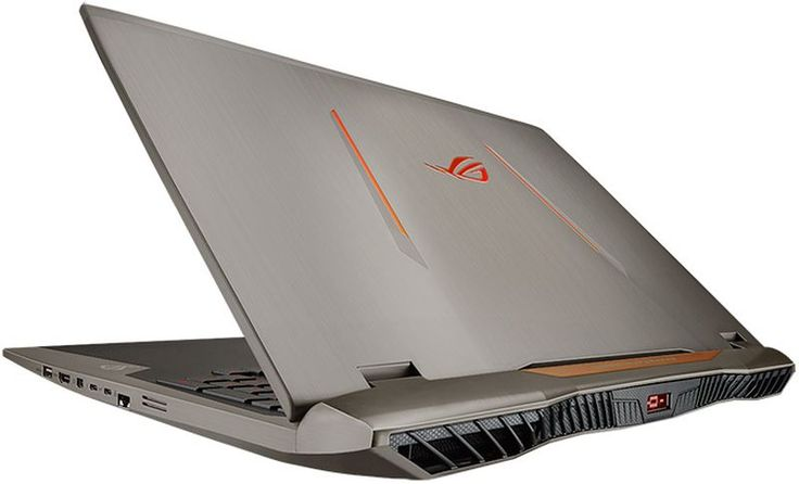 The ASUS ROG G701VI gaming laptop offers high VR performance