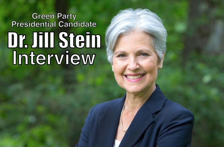 """Interview With Jill Stein—Presidential Candidate For the Green Party.""""We talked with 2016 Green Party presidential candidate Dr. Jill Stein about her progressive policy positions, whether she will collaborate with Bernie Sanders, the Green party """"spoiler"""" controversy, electoral reform, #BernieOrBust, and more! Enjoy!"""""""