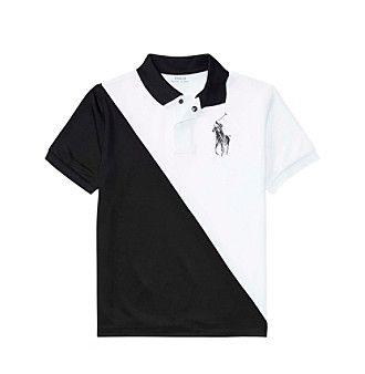 Polo Ralph Lauren® Boys' 8-20 Mesh Banner Top