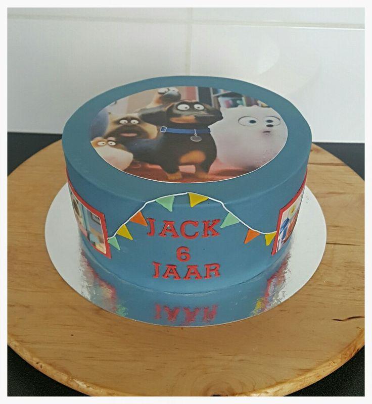 Secret life of Pets cake