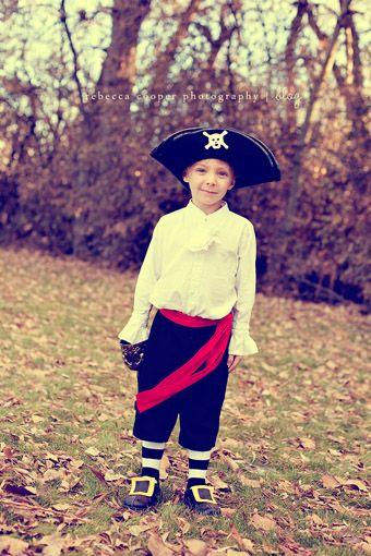 Classic pirate costume tutorial by Rececca Cooper.