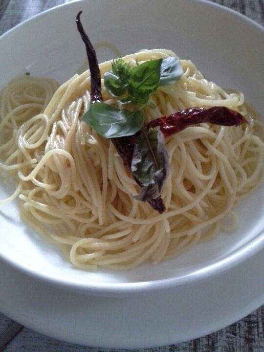 Aglio Olio from Bens! Simply delicious.
