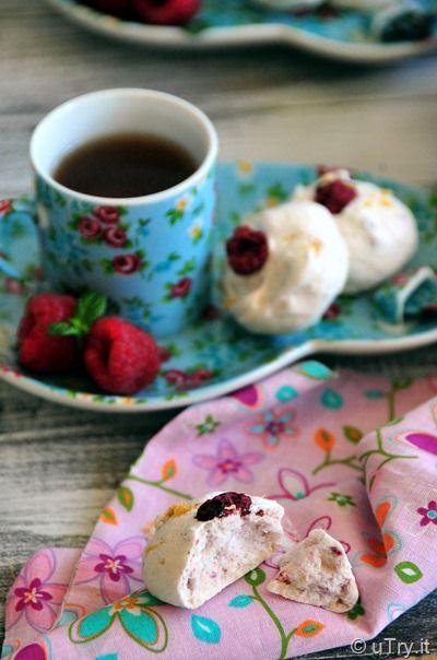 Lemon Raspberry Meringue Bubbles | Recipes | Pinterest
