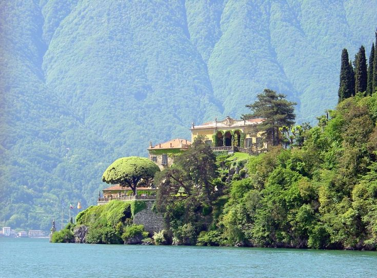 Villa del Balbianello (Villa Balbianello, Como Gölü, İtalya). LiveInternet tartışması - Rus Service Çevrimiçi günlüğü