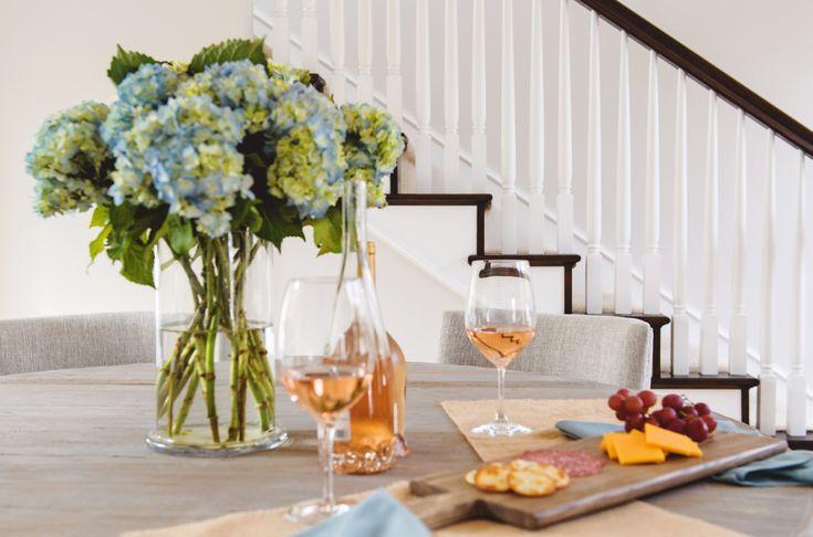 Classy Coastal Dining Room from Savvy Interiors