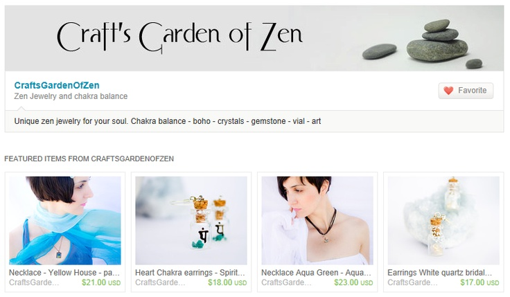 Welcome to my new shop at Etsy. Here you can find unique zen jewelry for your soul. Your energy is your esence. With my jewelry you can balance your chakras and look beautiful. Crystals are my love. I'm surrounding myself with them for years and this process is like waking up from a big dream . They are giving you a chance to live your life to the fullest. They are keeping you on the right track. Everywhere I go, they are with me.