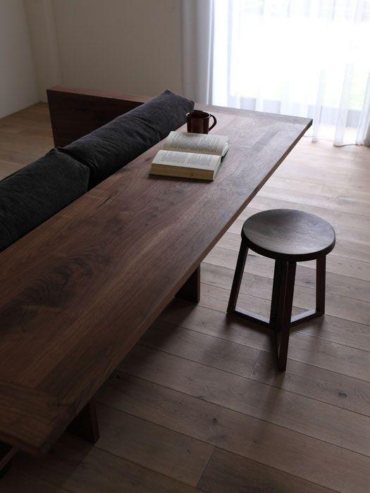 Les 25 meilleures id es de la cat gorie bureau en bois for Meuble qui se transforme en table