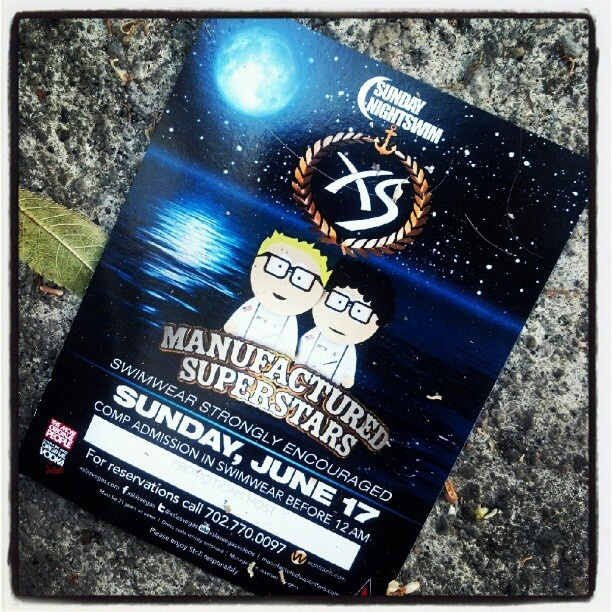 Manufactured superstars this sunday @ #nightswim at #XS! #wantickets - @wantickets- #webstagram