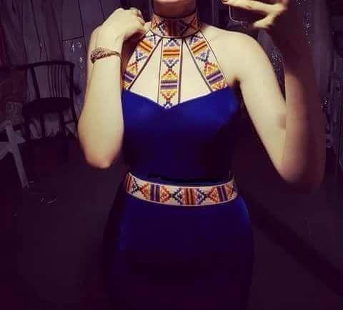 berbere kabyle dress |Anna Lane Pinterest