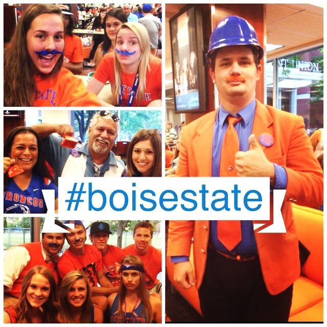 It's Game Day Broncos!  Game Day at the SUB is a fun place to watch our Boise State Broncos at BYU on the big screen. Join friends and fellow Bronco fans at 6 p.m. tonight in the SUB for the excitement! #boisestate