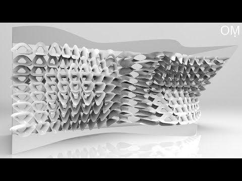28) grasshopper tutorial - Pufferfish- Twisted Curve Custom