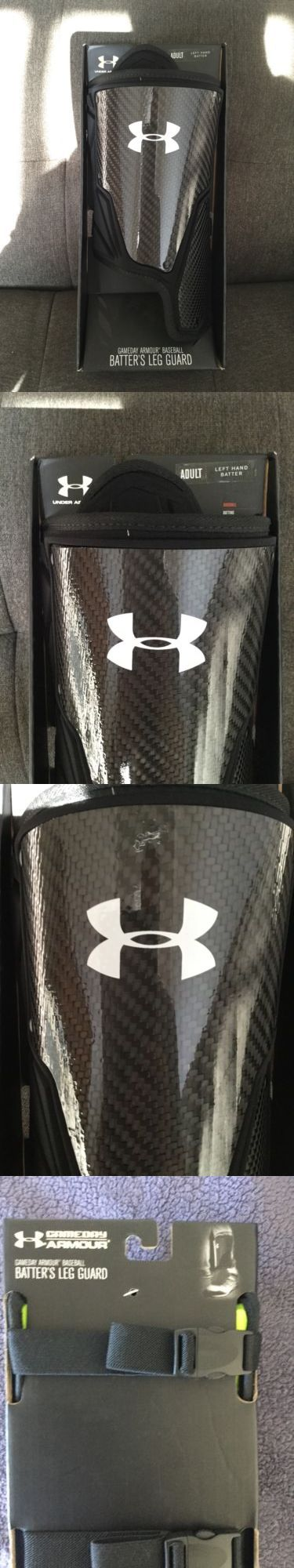 Other Baseball Protective Gear 181317: New Under Armour Adult Left Handed Batter Hitter Gameday Baseball Leg Guard -> BUY IT NOW ONLY: $47.99 on eBay!
