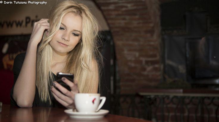 Coffee girl by Dorin Tutuianu on 500px