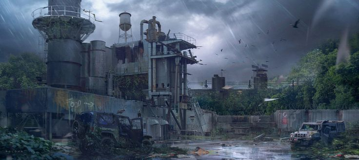 ArtStation - Post apocalyptic tribute, Juan Pablo Roldan