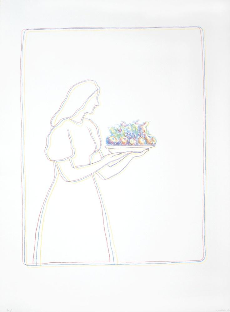 Ilya Kabakov - Printer's Mistake D for Sale Art Experience NYC www.artexperiencenyc.com