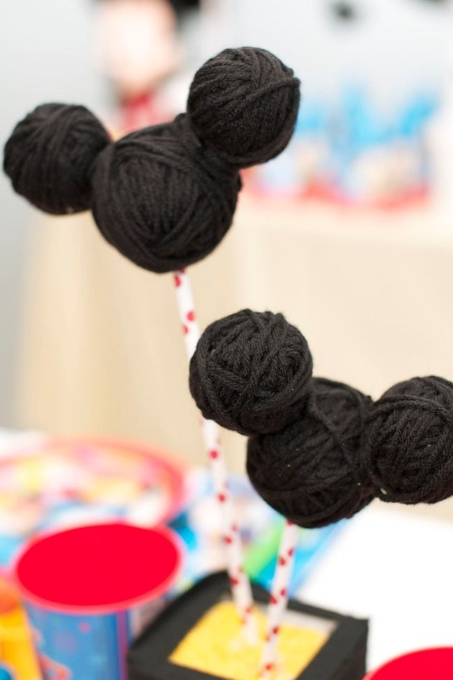 Mickey Mouse Party Table Centerpiece