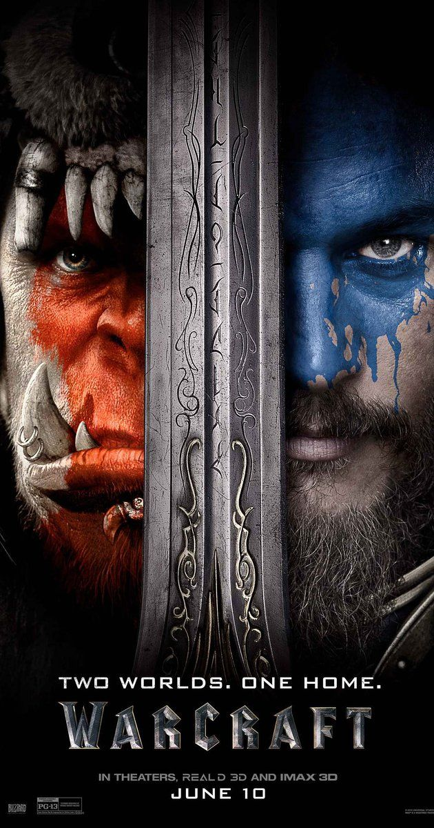 Directed by Duncan Jones.  With Travis Fimmel, Paula Patton, Ben Foster, Dominic Cooper. The peaceful realm of Azeroth stands on the brink of war as its civilization faces a fearsome race of invaders: orc warriors fleeing their dying home to colonize another. As a portal opens to connect the two worlds, one army faces destruction and the other faces extinction. From opposing sides, two heroes are set on a collision course that will decide the fate of their family, their people, and ...