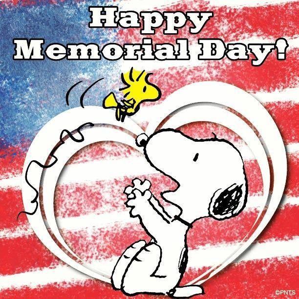 Happy Memorial Day Snoopy